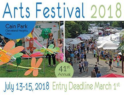 Image of Cain Park Arts Festival 2018 application