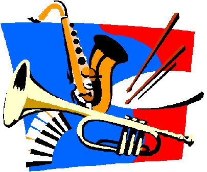 Image of Dixieland instruments