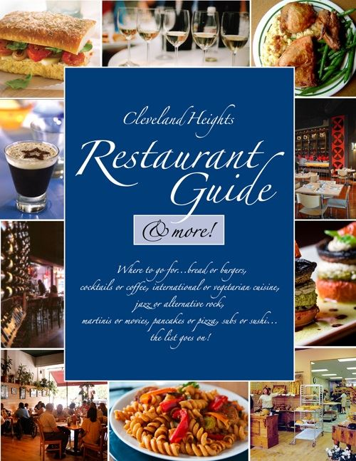 Restaurant Guide Cover Photo