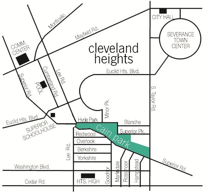 Cleveland Heights Map