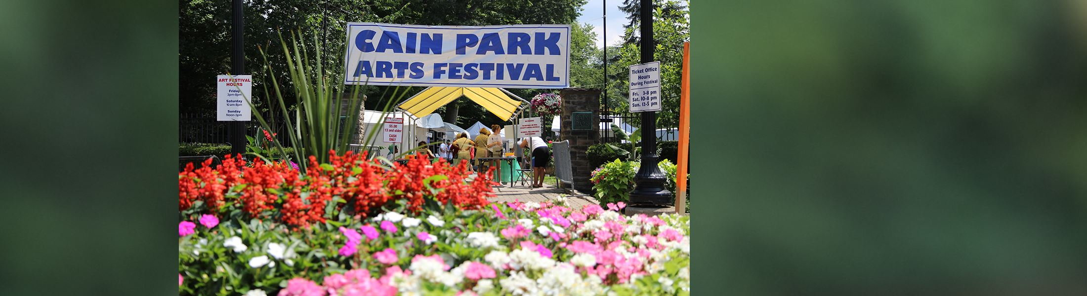 Image of Cain Park Arts Festival Lee Road entrance